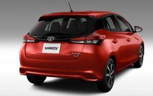 Toyota Yaris Hatch 2021 chega com 6 versões diferentes