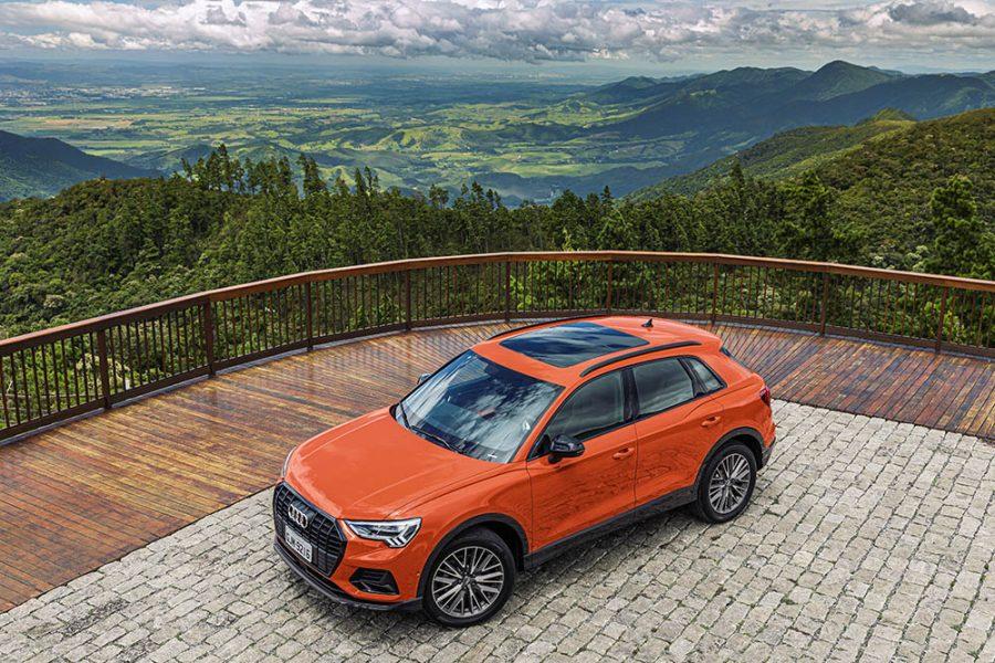 Referência em sua categoria, a nova geração do Audi Q3 incorpora a nova linguagem de design da família Q