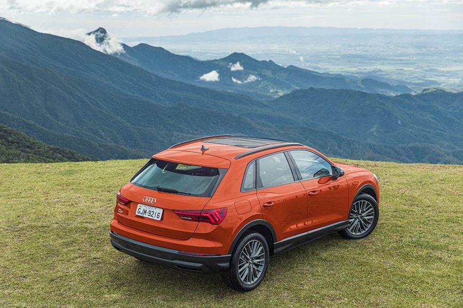 O novo Audi Q3 cresceu em todas as dimensões