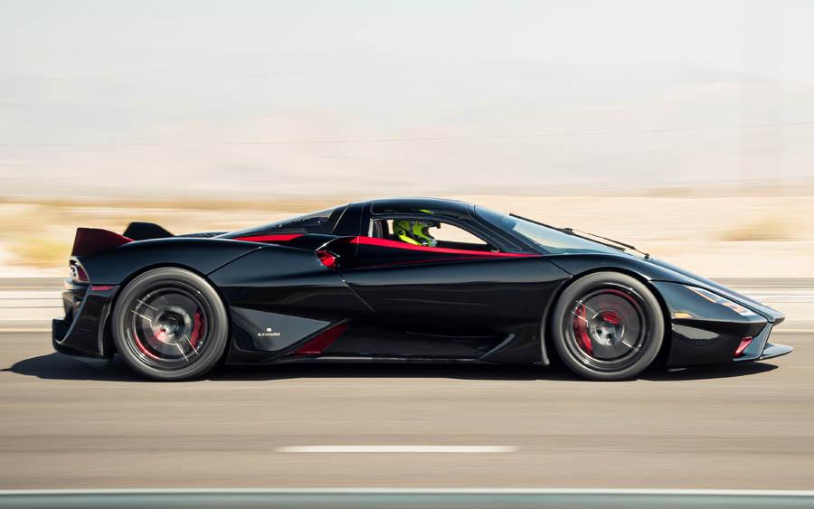 O carro mais rápido do mundo agora é o SSC Tuatara
