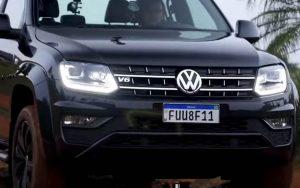 Muita potência com a VW Amarok V6 de 258 cv, mas o preço não é baixo