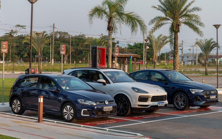 Conheça o primeiro eletroposto da VW, Audi, Porsche e EDP