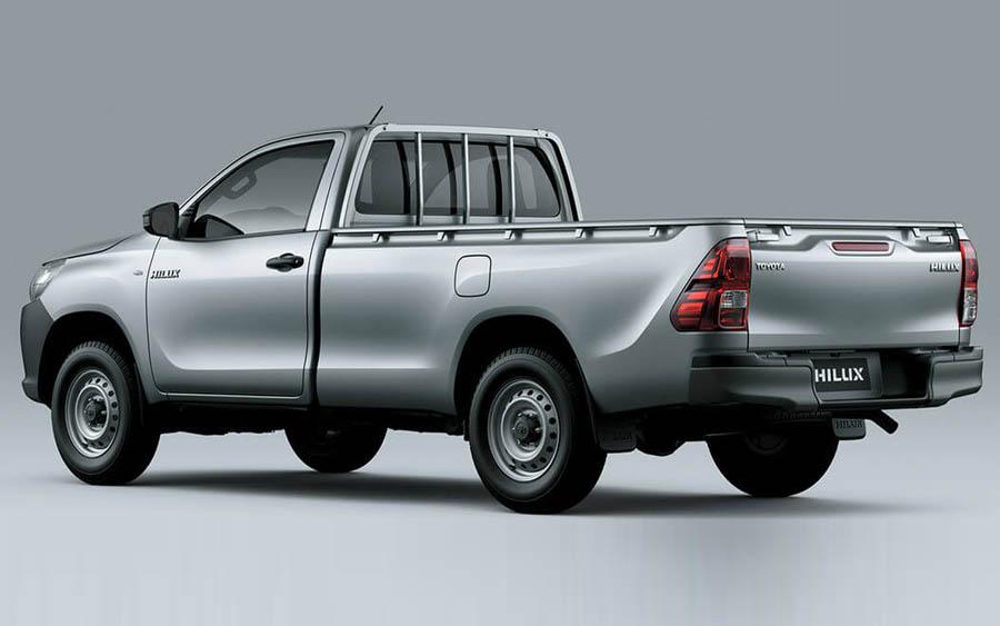 Hilux Cabine Simples tem capacidade de carga de até 1.195 Kg