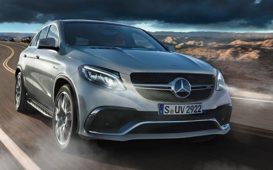 Mercedes GLE Coupé é um SUV de responsa