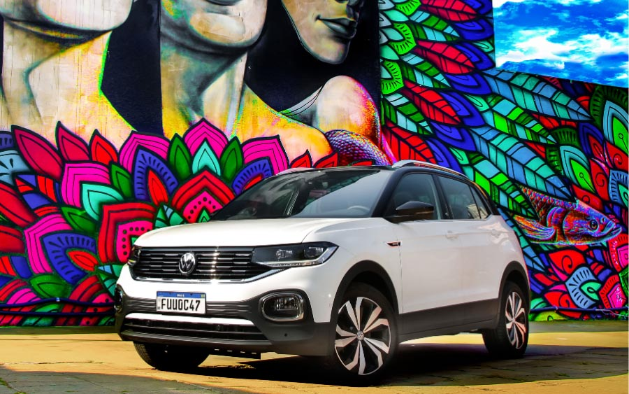 Novo VW Play é destaque do Volkswagen T‑Cross 2021