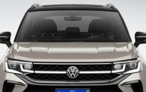O interessante LED na grade do Volkswagen Taos