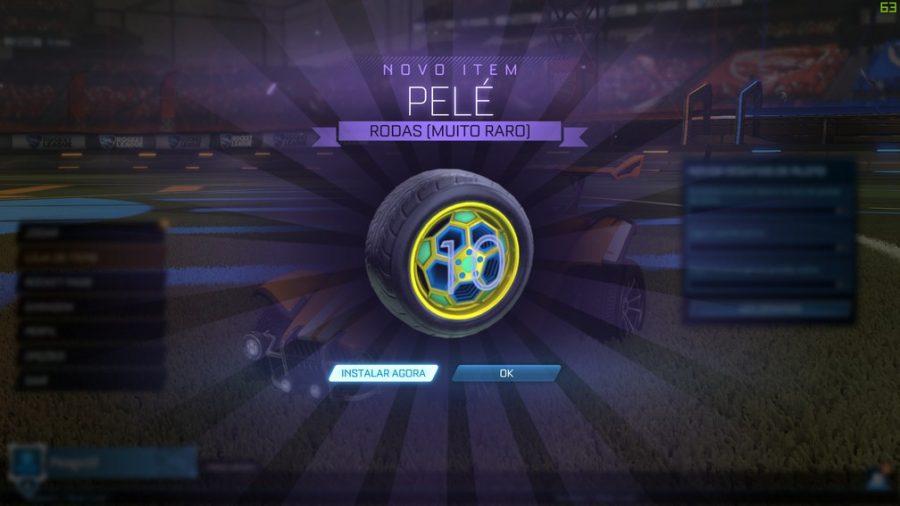 Pelé Wheels: a roda em homenagem ao aniversário de 80 anos do Rei no Rocket League