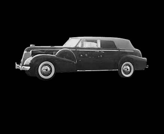 Cadillac 1939 Series 75 conversível