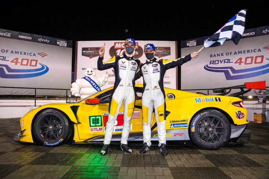 Corvette C8.R Charlotte Motor Speedway Roval