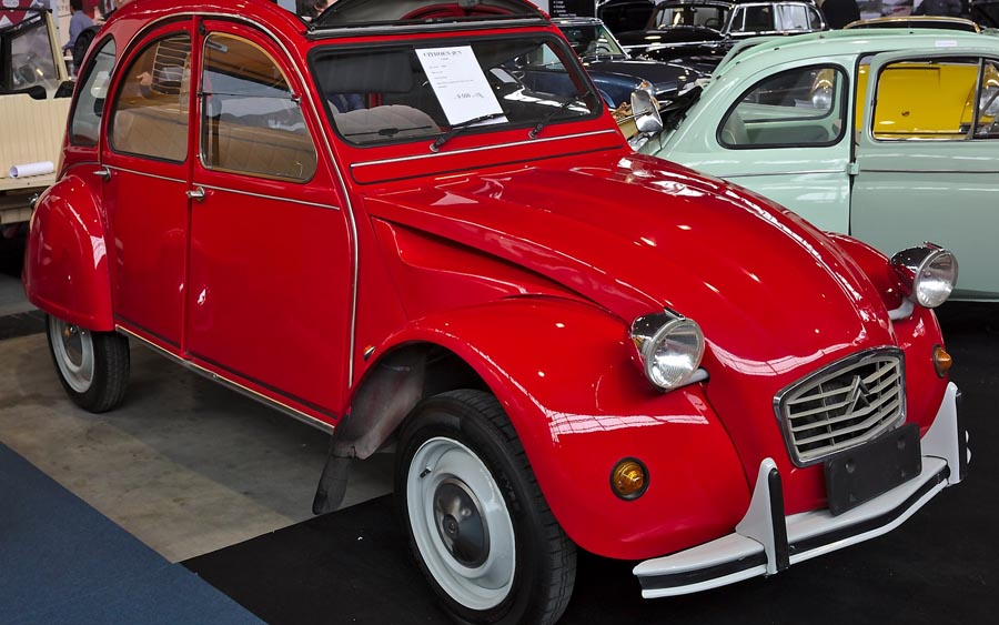 40 anos do Citroen 2CV Charleston