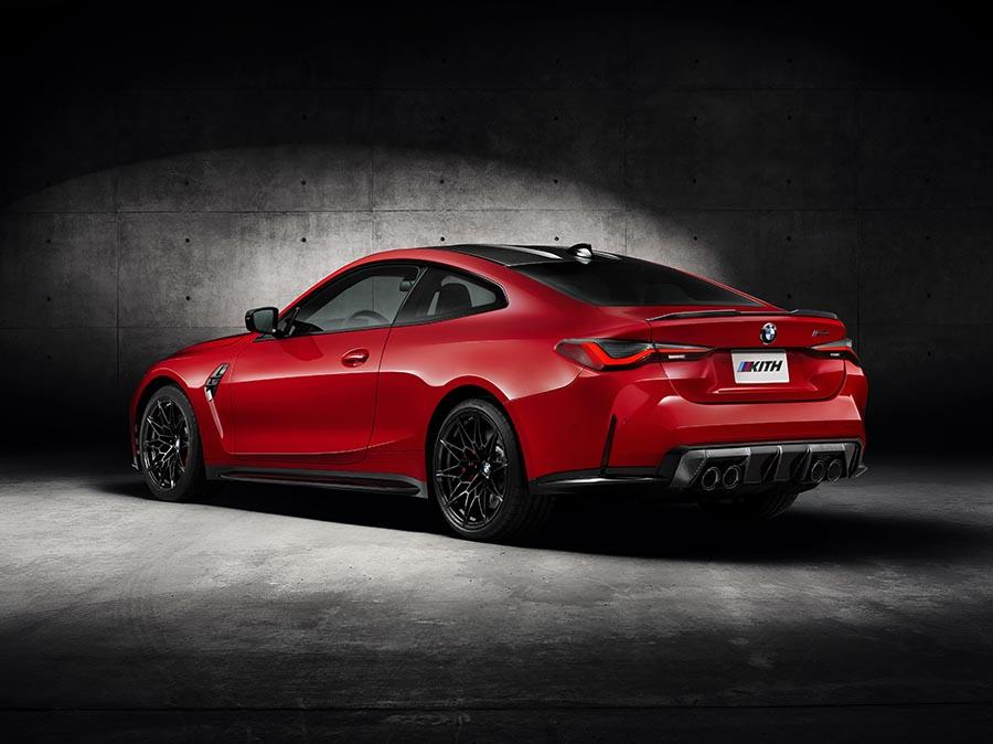 Outro item exclusivo do BMW M4 da marca de lifestyle é a pintura no tom Vermelho Cinnabar originalmente usada no modelo E30 M3.