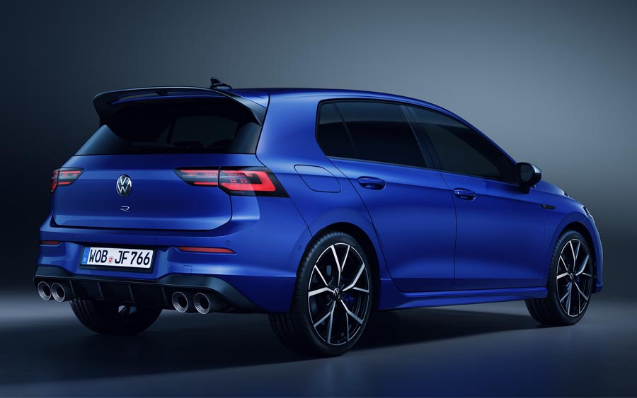 Novo Volkswagen Golf R 2021 tem motor 2.0 turbo