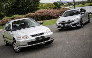 A história do Honda Civic no Brasil