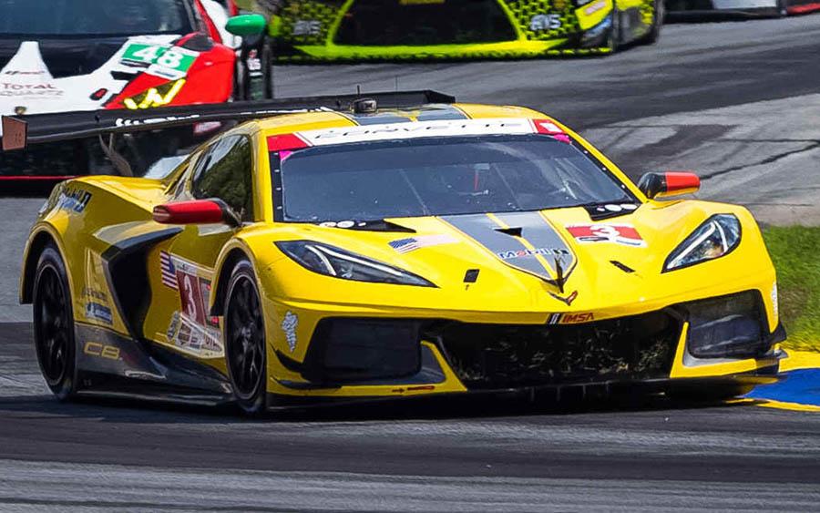 A Chevrolet conquistou o título de Fabricantes GT Le Mans
