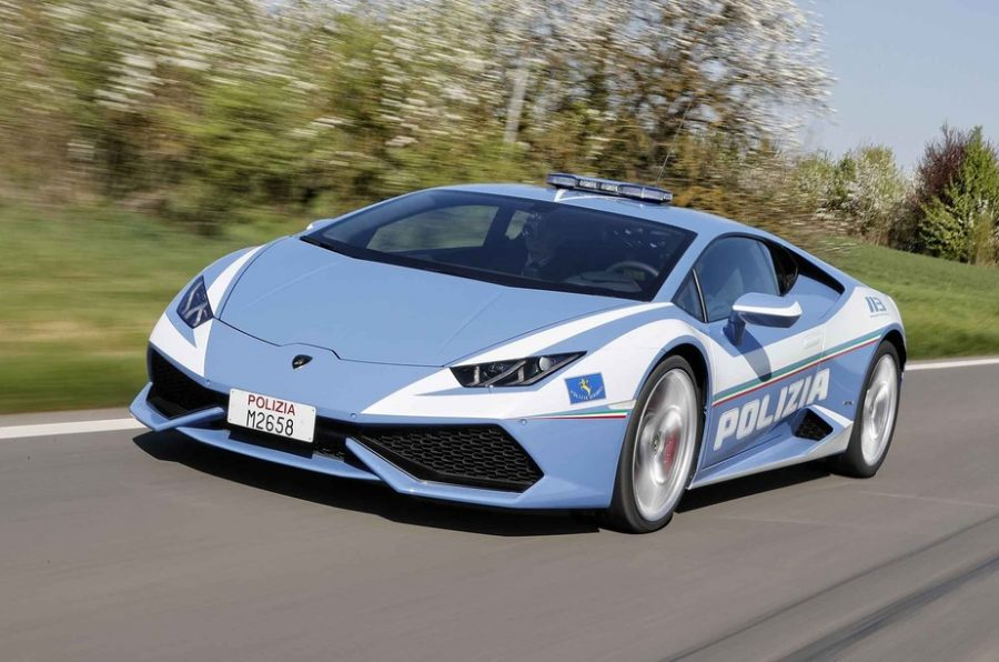 Lamborghini Huracan da polícia italiana