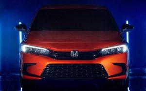 Novo Honda Civic 2022: 11º geração tem design revelado