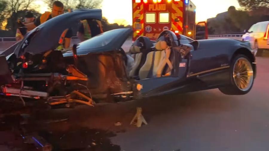 Pagani Huayra Roadster bate em Dallas
