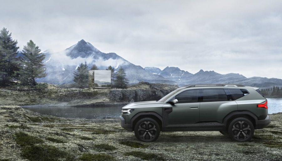Porte supera o comprimento do Jeep Compass — Foto: Divulgação