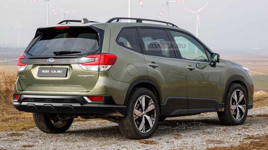 Projeção: Subaru Forester 2022