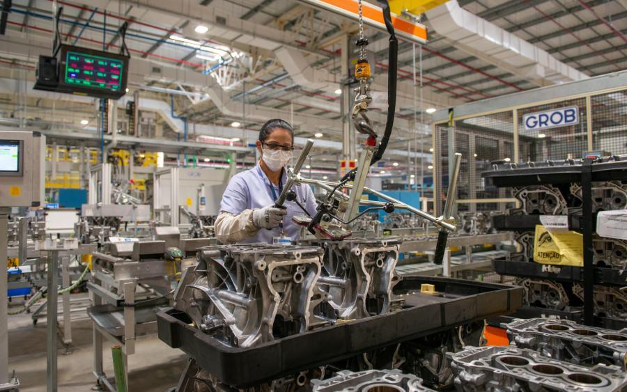 Chevrolet já produziu mais de 1 milhão de motores em Joinville