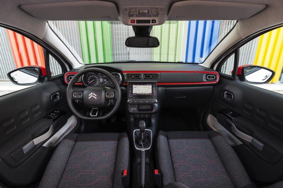 Novo Citroën C3 - interior (foto: reprodução)