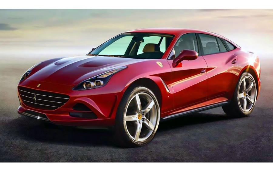 Novos SUV's da Ferrari serão movidos a eletricidade