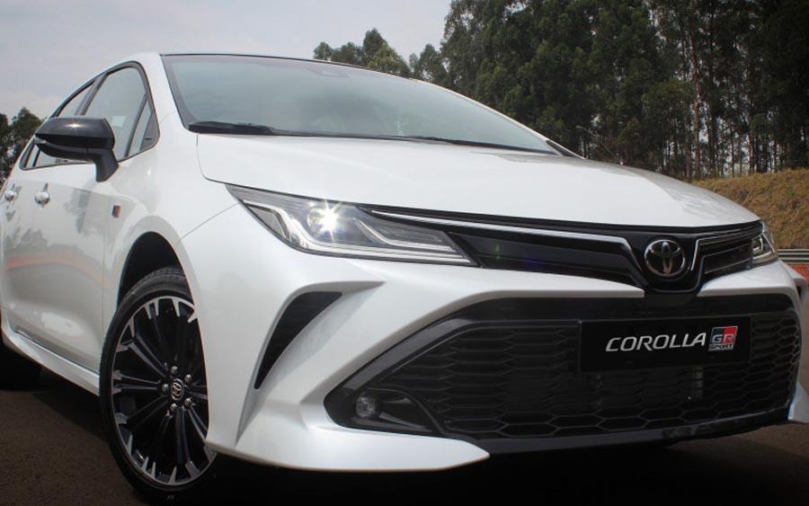 Toyota Corolla GR-S 2021 no Brasil