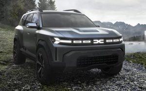 Dacia divulga novo Bigster Concept, o SUV híbrido de baixo custo e 7 lugares