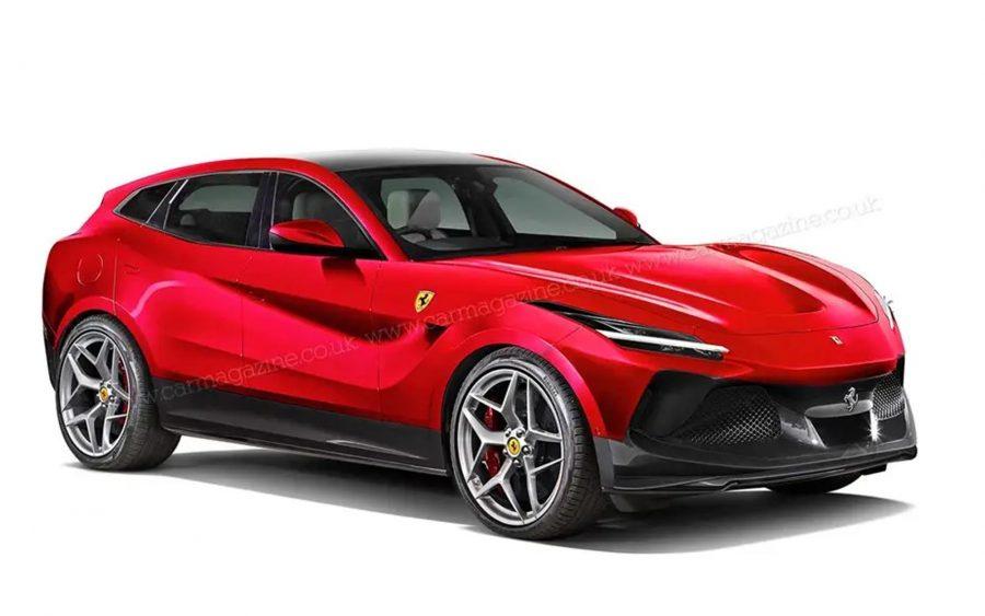 SUV da Ferrari (foto: reprodução)