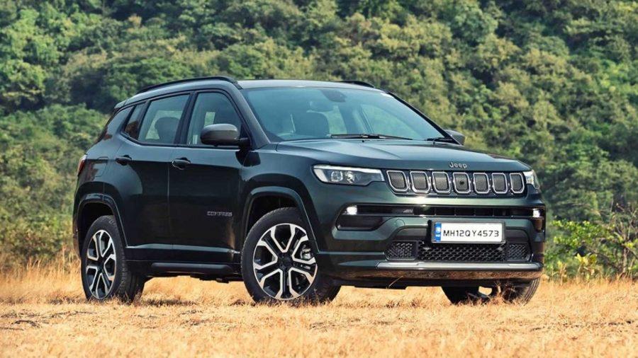 Jeep Compass 2022 na índia