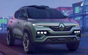 Novo Renault Kiger já tem forma conceitual e foi baseado no Kwid