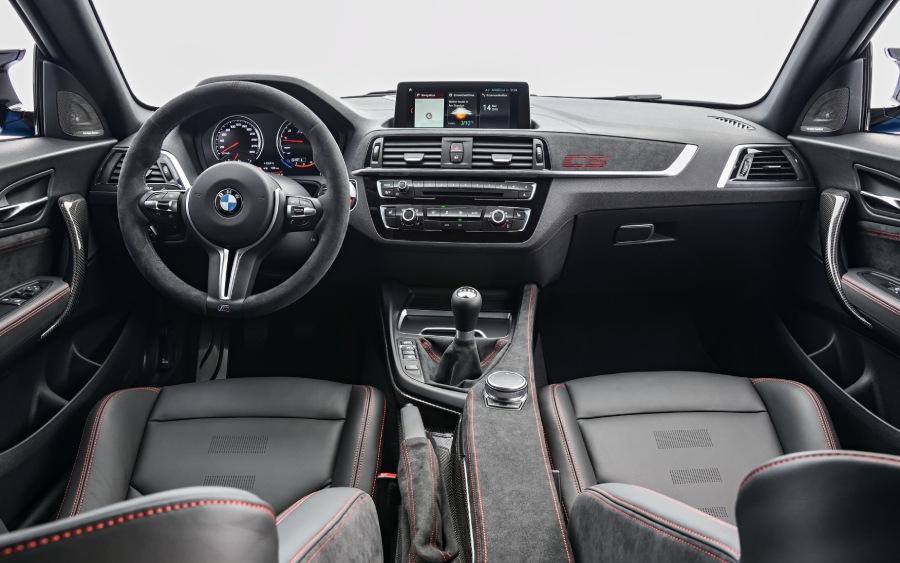 BMW M2 CS - interior (foto: divulgação)
