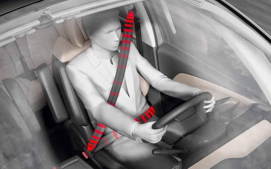 Use corretamente o cinto de segurança