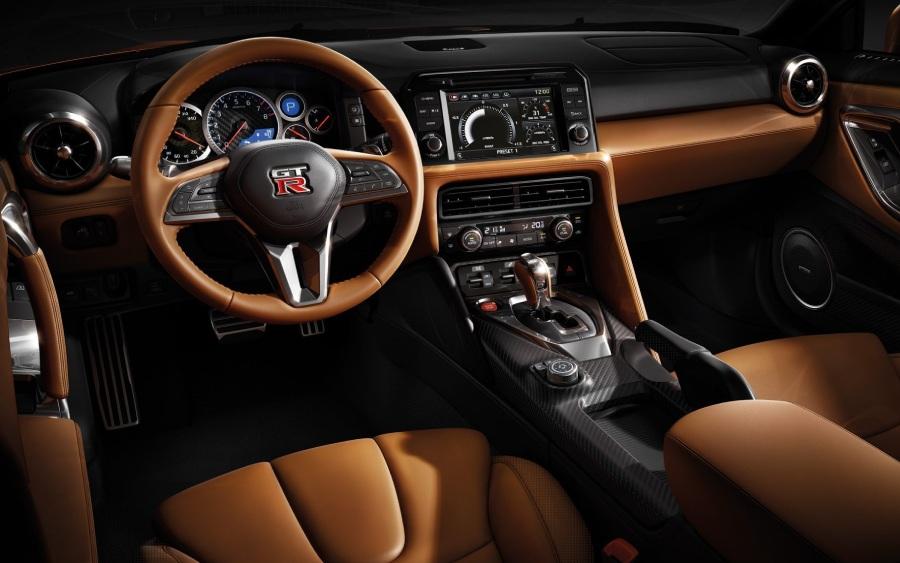 Nissan GT-R - detalhe interior (foto: divulgação)