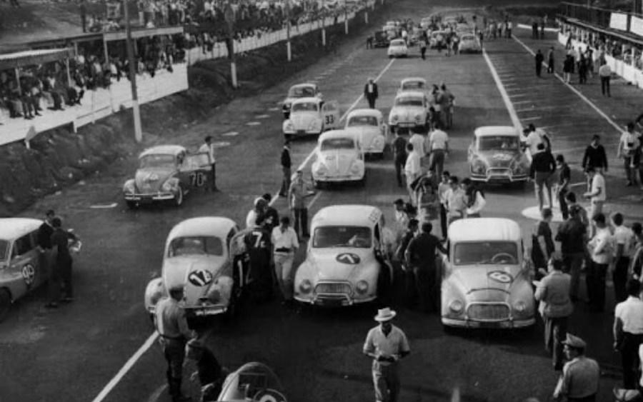 Uma paixão cada vez mais frequente pelas corridas de carro