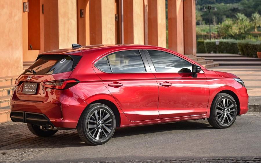 Novo Honda City Hatchback 2022 (foto: divulgação)