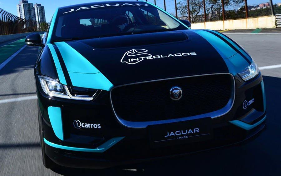Jaguar I-PACE faz história em Interlagos