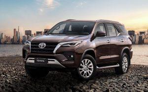 Nova Toyota SW4 2021 ganha mais potência