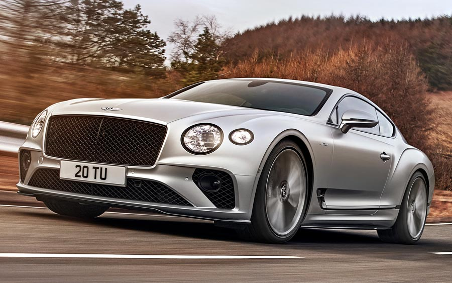 Bentley divulga novo Continental GT Speed