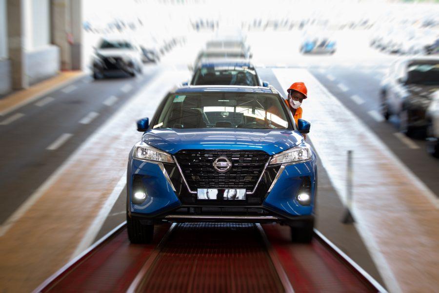 O Novo Nissan Kicks começa a chegar às 179 lojas da marca de todo o Brasil.