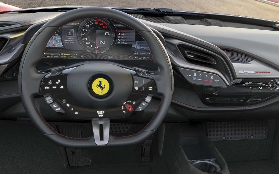 Ferrari SF90 Stradale (foto: divulgação)