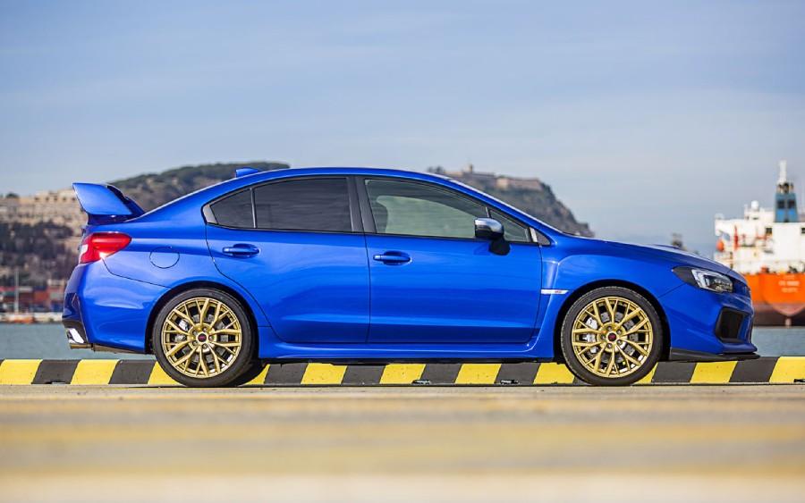 Subaru WRX STI (foto: divulgação)