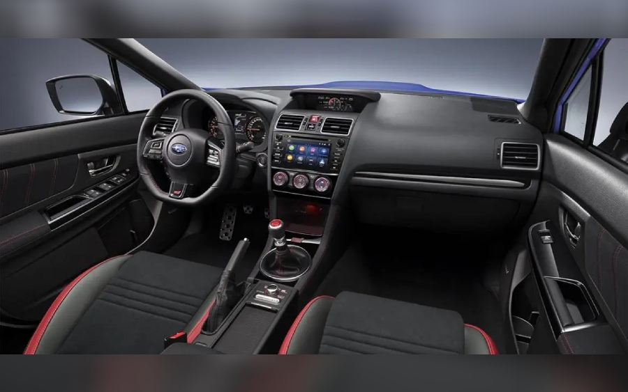 Subaru WRX STI - interior (foto: divulgação)
