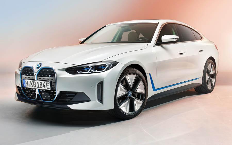 BMW i4 totalmente elétrico é confirmado para o Brasil