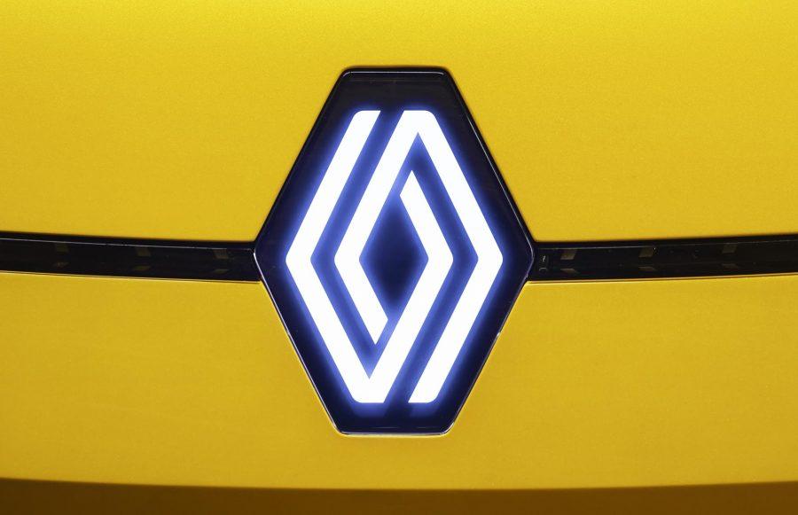 Para Gilles Vidal, o losango encarna essencialmente a Renault. Por isso, manter esta forma geométrica universal seria evidente.