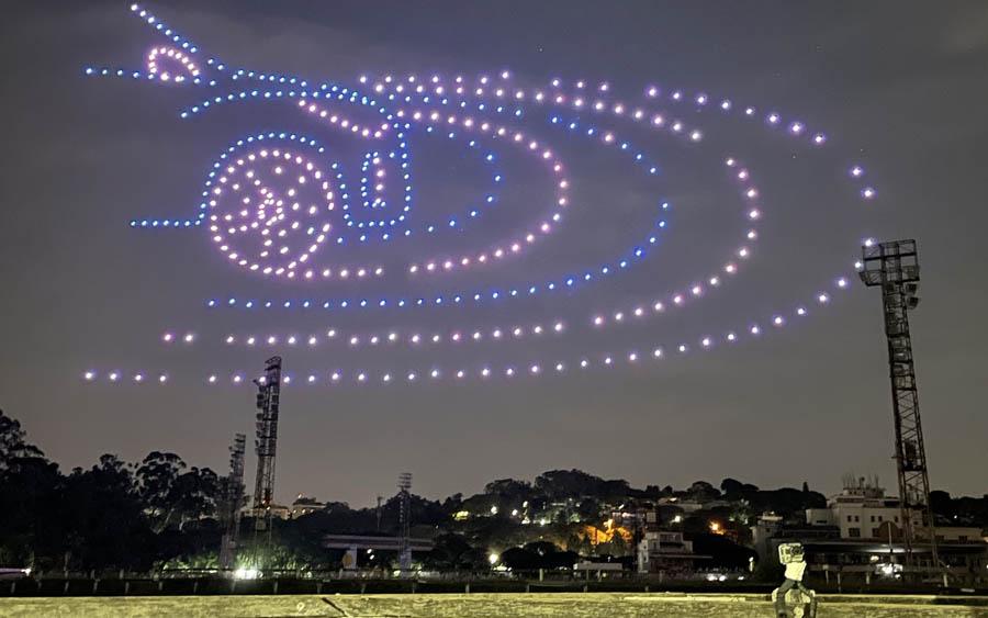 Veja o surpreendente show de drones da Nissan para apresentar o novo Kicks 2021