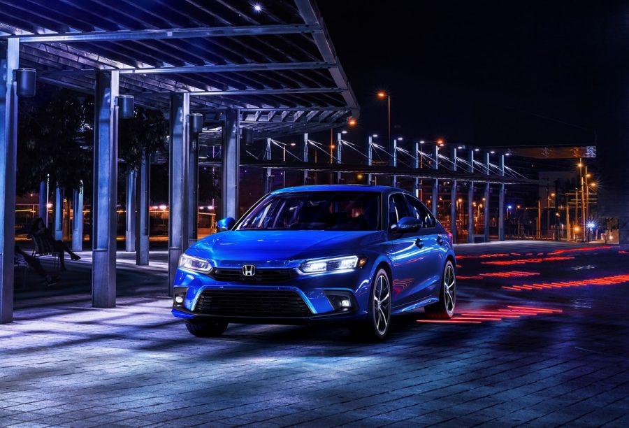 Novo Honda Civic 2022 ficou maior, mas não terá motor híbrido para enfrentar o Toyota Corolla