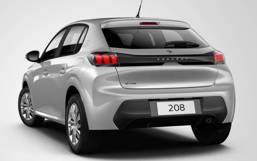Novo Peugeot 208 com câmbio manual