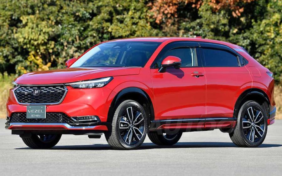 Novo Honda HR-V 2022 (foto: divulgação)