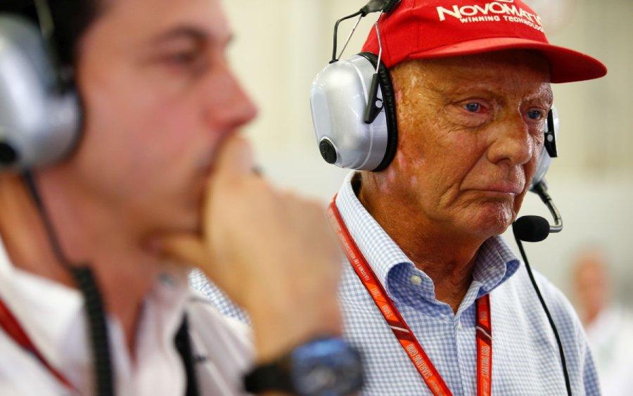 Niki Lauda presidente não executivo da Mercedes